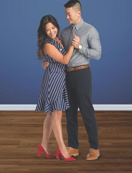 Couple dancing on floor | The Carpet Stop
