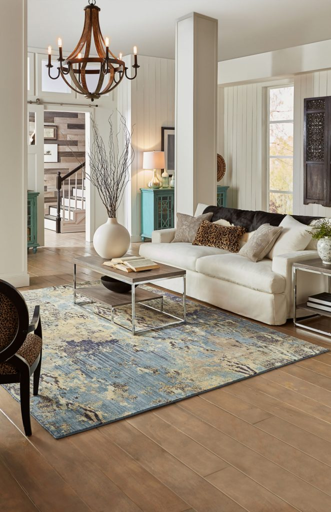 Living room interior with sofa and coffee table | The Carpet Stop