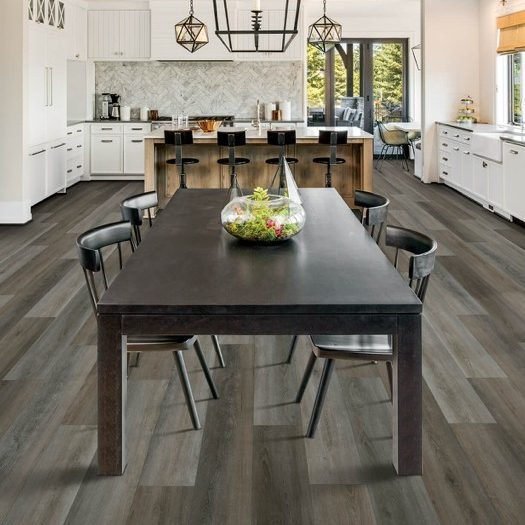 Table on Laminate flooring | The Carpet Stop